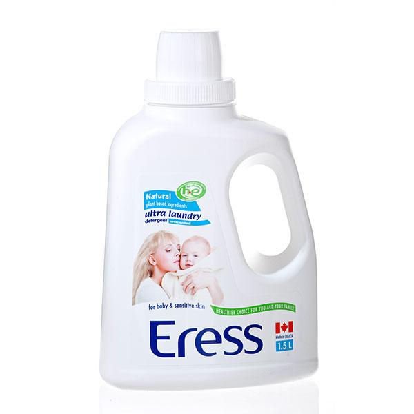 伊瑞丝Eress加拿大进口高效浓缩婴儿洗衣液无味1.5L