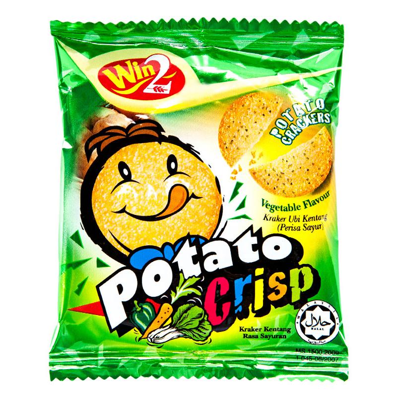 赢赢蔬菜味薯饼120g袋