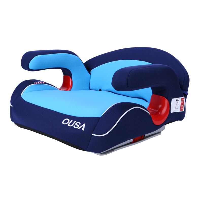 欧萨(OUSA)儿童安全座椅增高垫星际蓝15-36kg