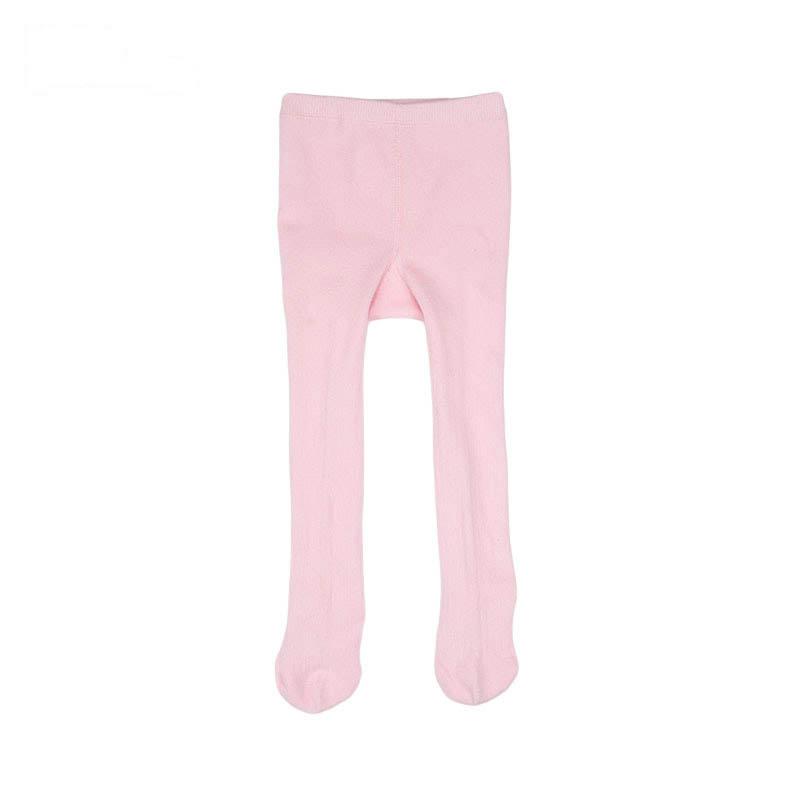 歌瑞贝儿女童素色连裤袜(1双装)GK154-036E粉24-36个月