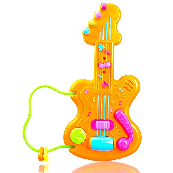 星月迷你电子小吉他增加孩子弹奏乐趣