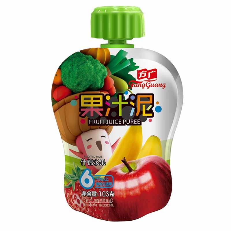 方广什锦水果果汁泥袋装6月以上103g