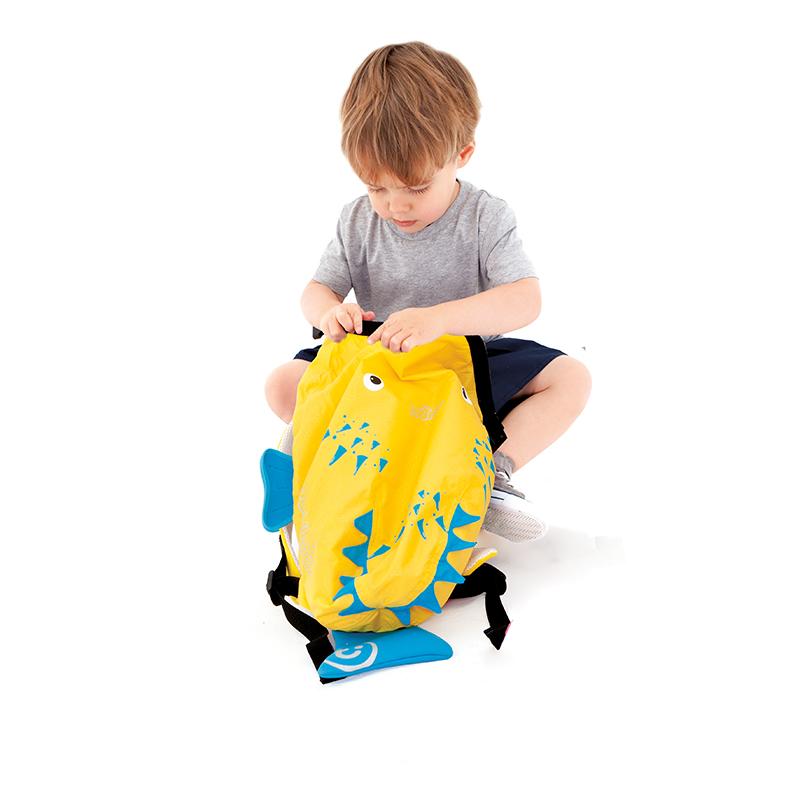 【乐海淘】英国Trunki防水背包-细码(2-6岁)-小河豚香港直邮