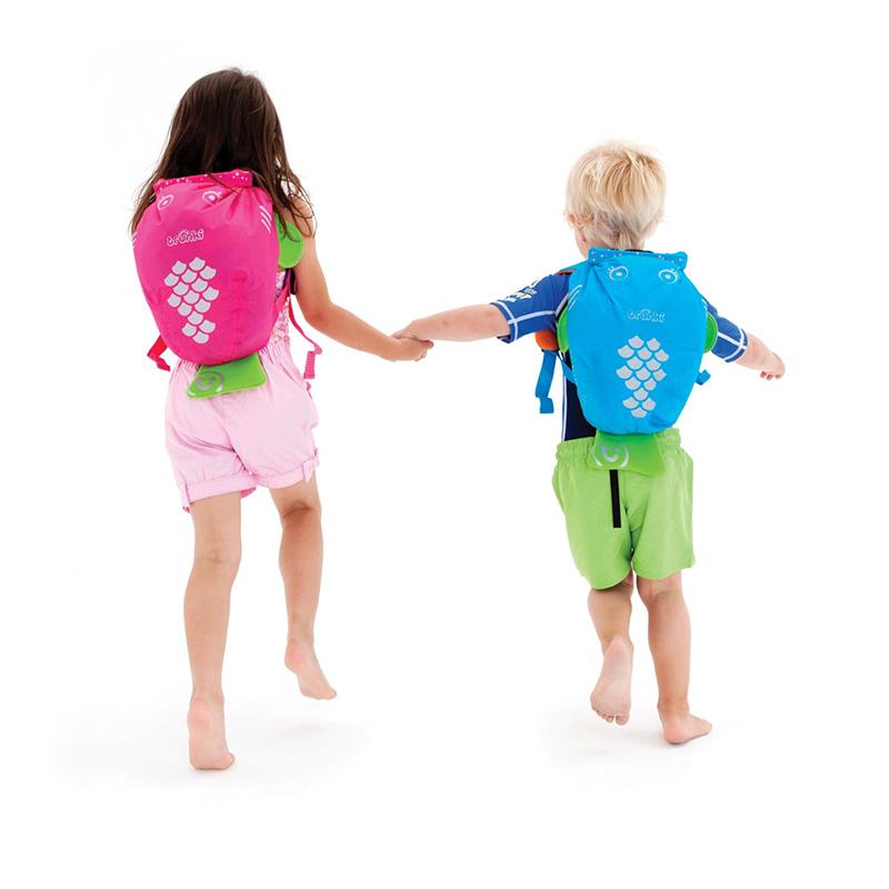 【乐海淘】英国Trunki防水背包-细码(2-6岁)-粉红色香港直邮