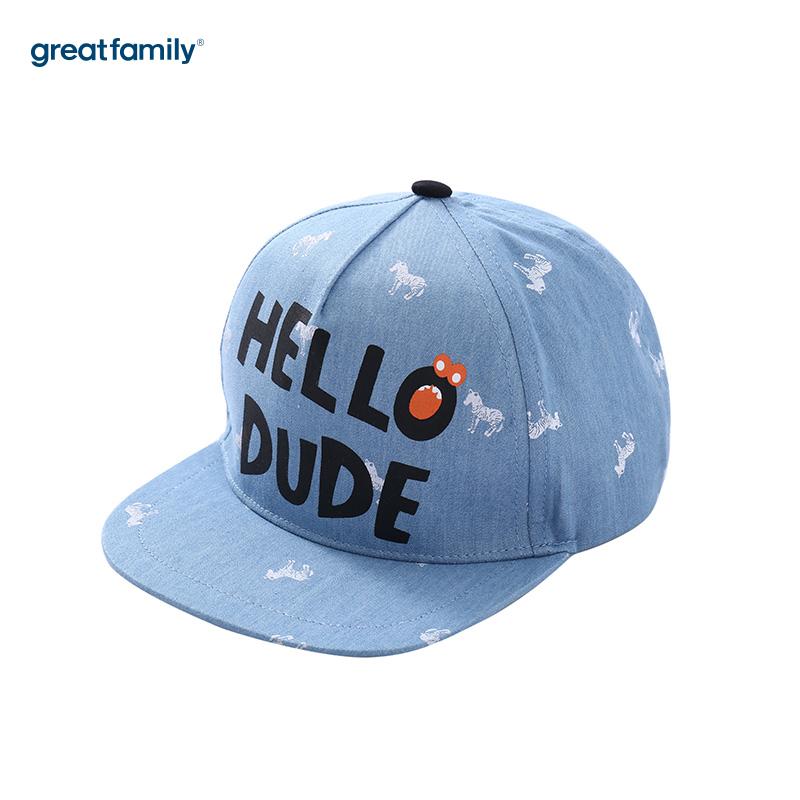 歌瑞家A类男童蓝色棒球帽