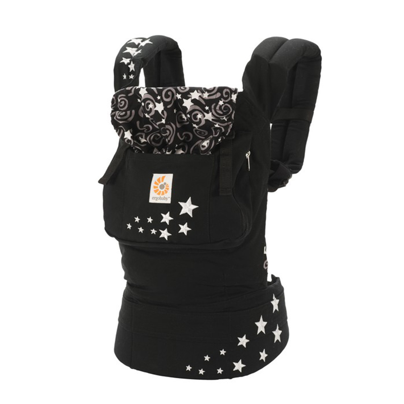 美国Ergobaby基本款婴儿背带(晚空)明星同款 Ergobaby Original 3 Position Baby Carrier Galaxy Night Sky