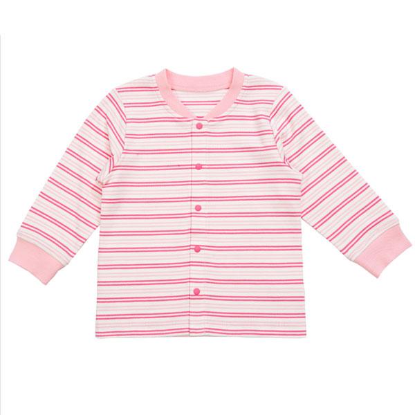 歌瑞贝儿(新)--40支双面布色织对襟上衣GB133-2038VC粉80cm