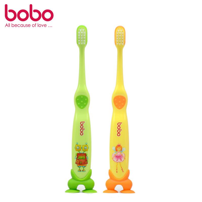 乐儿宝BOBO细毛护龈牙刷