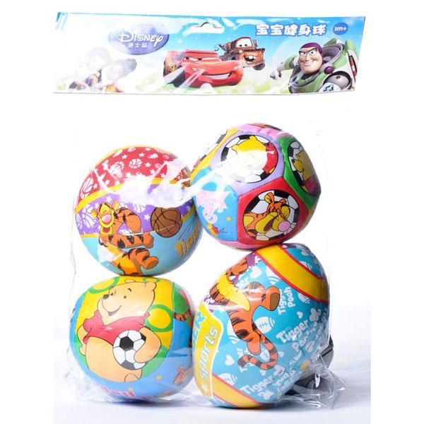 INNOVATIVE伊诺特4寸健身球4个装宝宝必备球类玩具