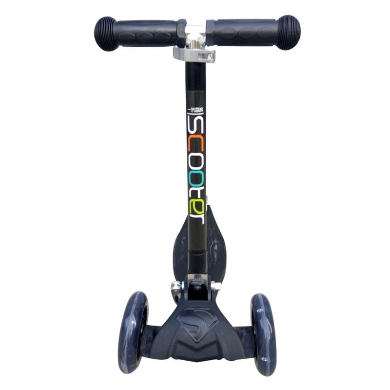 一米高科儿童三轮折叠滑板车(黑色)