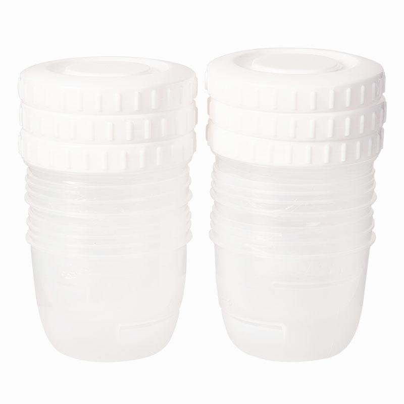 迪福Difrax荷兰进口存储杯储奶杯(6个)