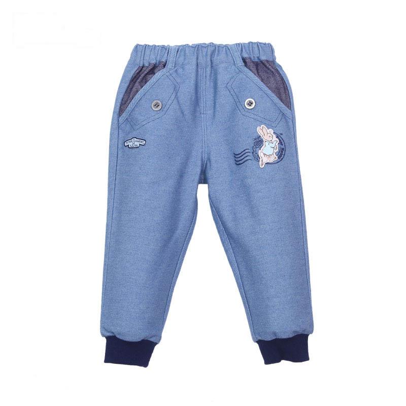 歌瑞家(比得兔)A类男宝宝蓝色针织长裤