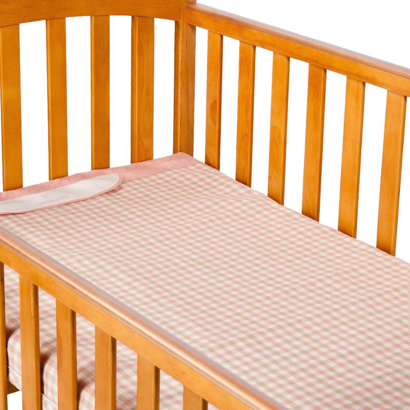 良良格彩苎麻保健凉席(标准加大)125*74(cm)粉LL16B04-2P