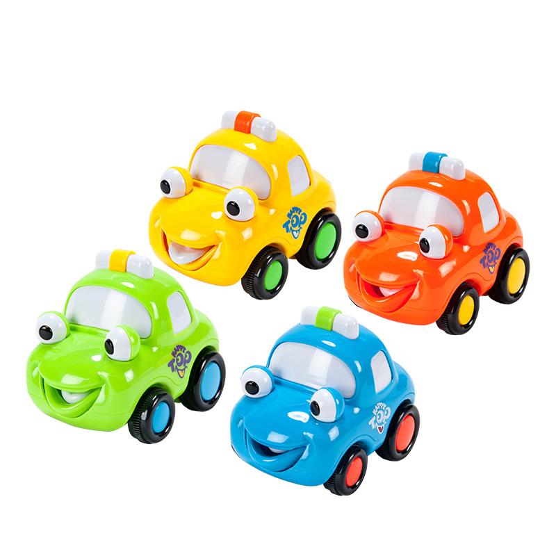 字母婴儿趣味玩具(迷你惯性警车)