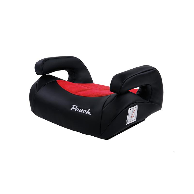 Pouch便携儿童安全座椅坐垫isofix接口KS20米灰色