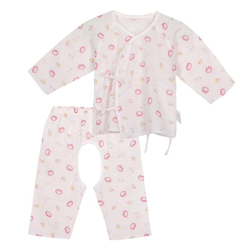 歌瑞贝儿A类女婴纱布和短袍套装1色可选