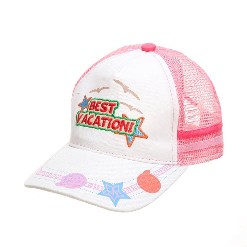 歌瑞凯儿(童配)--欢乐假期帽GK141-0016A粉48码个