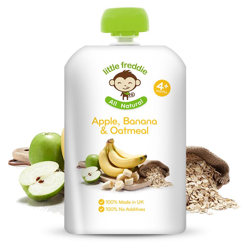 小皮--燕麦香蕉苹果泥120g