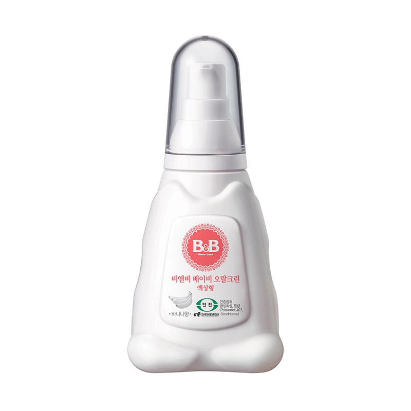保宁B&B韩国进口宁婴儿口腔清洁剂70g香蕉味婴儿口腔清洁