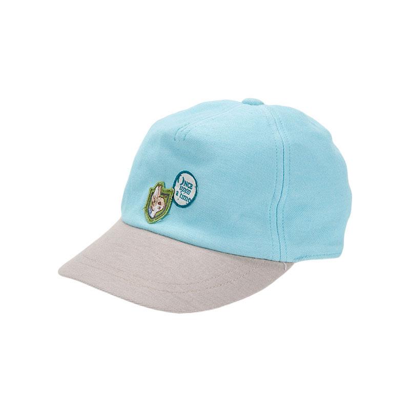 歌瑞家greatfamily男童棒球帽蓝色