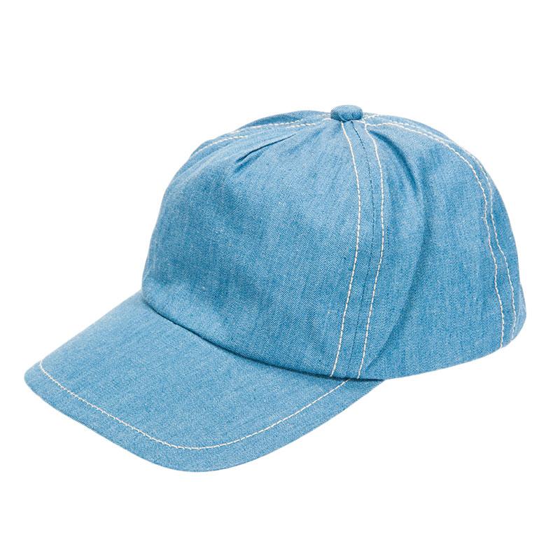 歌瑞凯儿女童时尚牛仔棒球帽GK153-002A牛仔色48CM顶
