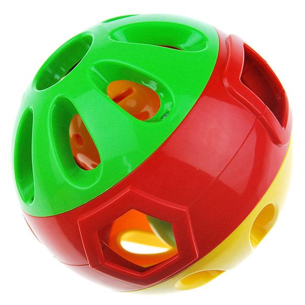 澳贝(Auby)宝宝健身铃铛手抓球响铃滚滚球