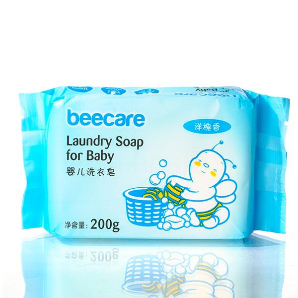 碧呵婴儿洗衣皂洋槐香200g天然清洁因子不伤衣不伤手