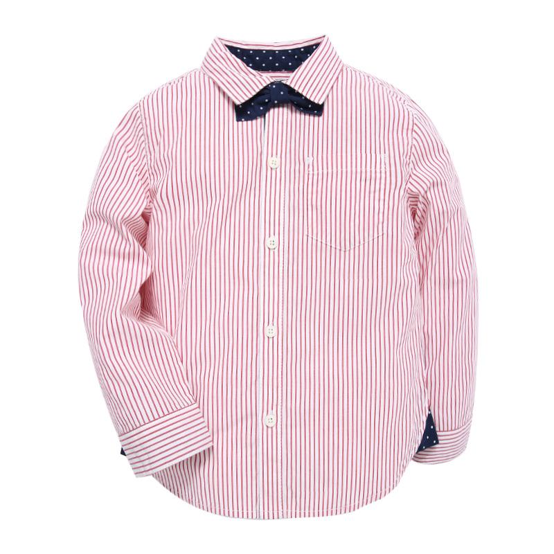 歌瑞家greatfamilyA类条纹男童条纹衬衫