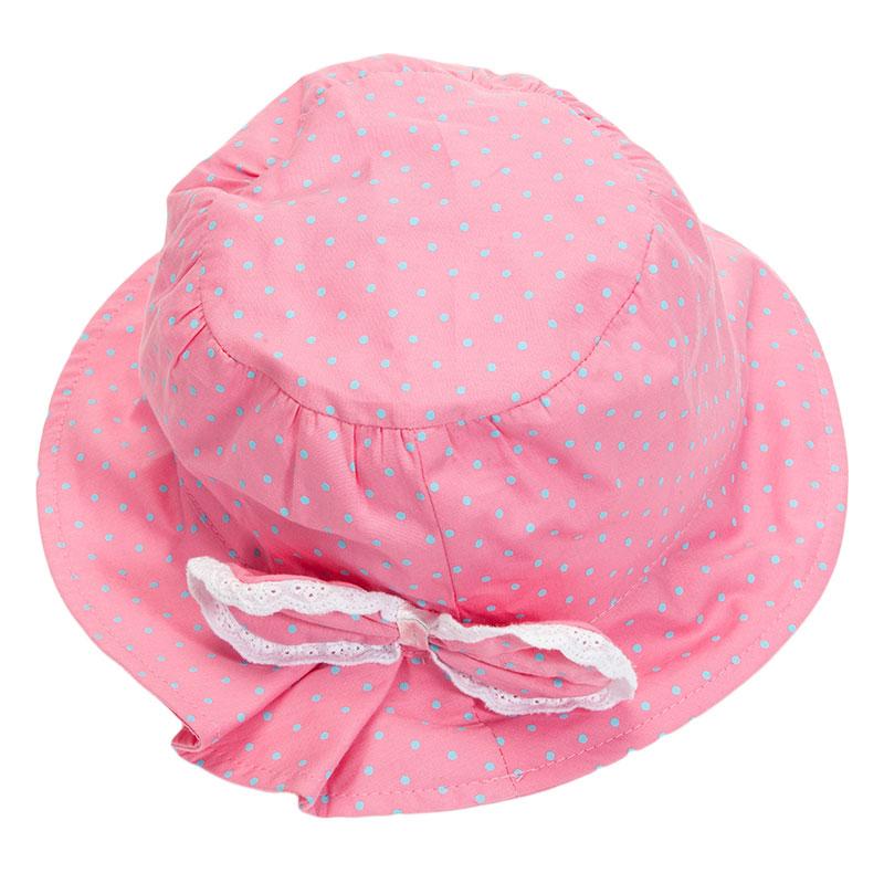 歌瑞凯儿女童可爱盆帽GK153-008A粉48CM顶