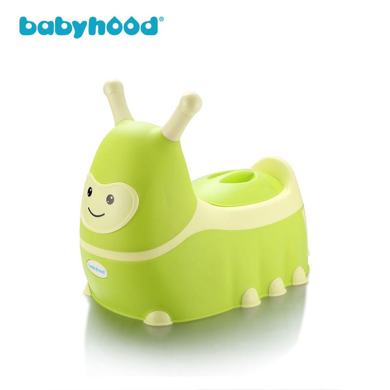 babyhood世纪宝贝毛毛虫卡通座便器