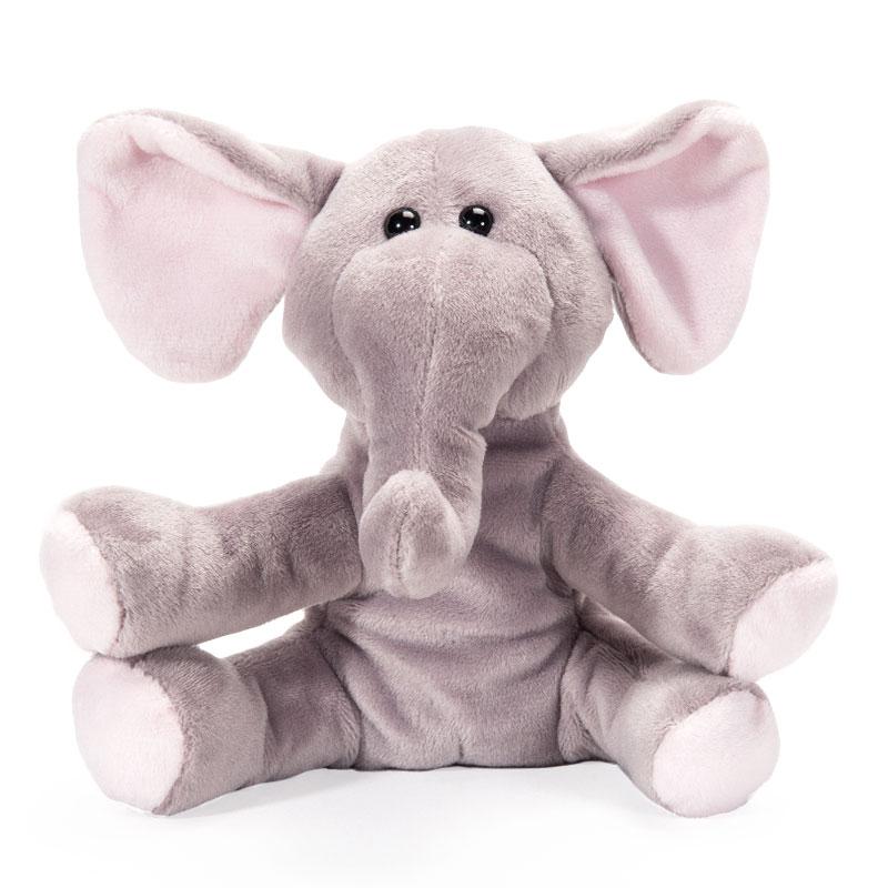 字母毛绒玩具野生动物象