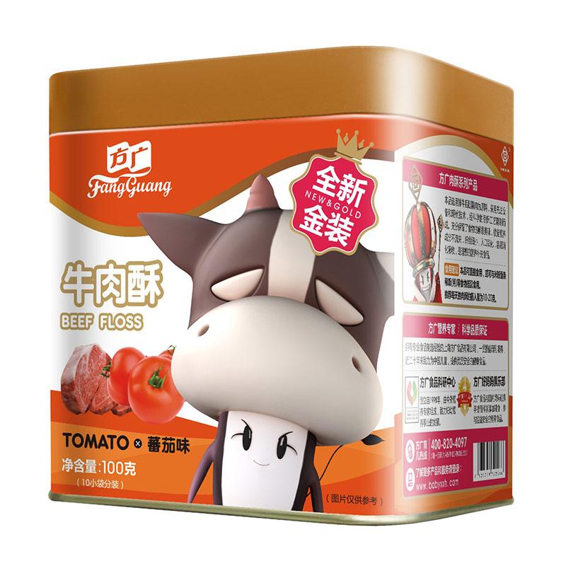 方广牛肉酥番茄味6个月以上100g