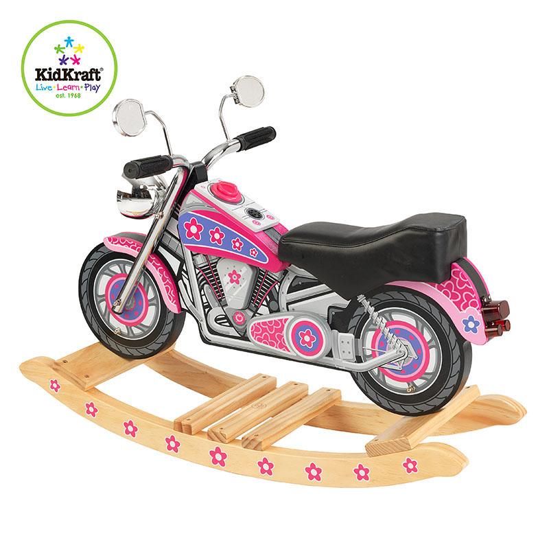 KidKraft摩托摇马-绚烂 粉色
