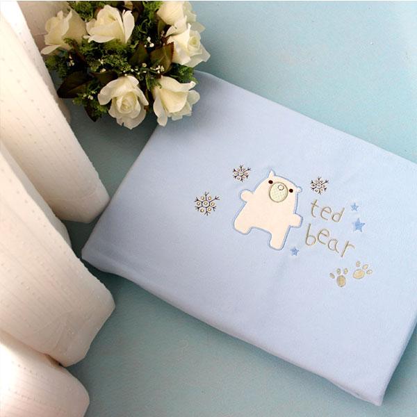 小榕树(新)--优优熊童毯(蓝)LB-MT15蓝混码盒