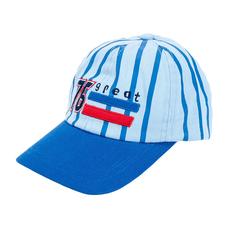 歌瑞凯儿男童棒球帽GB161-047A蓝46cm顶
