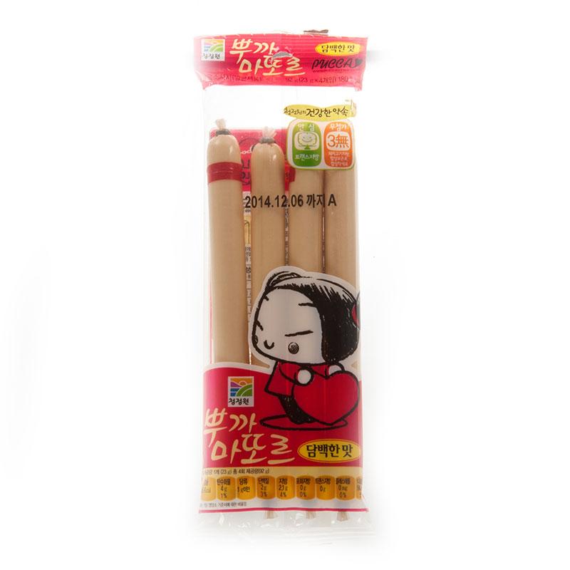 清净园鳕鱼肠(原味)92g袋