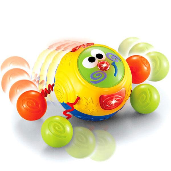 FisherPrice费雪牌跳舞好朋友儿童音乐玩具宝宝玩具学爬玩具