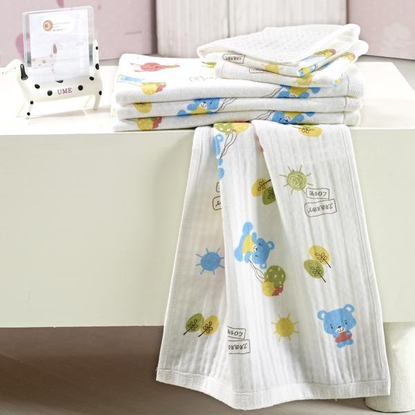 佳爱贝比(新)--蜂窝纱布面巾JAQ-FS1308混色混码/