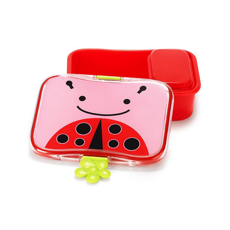 skiphop可愛動物園午餐盒甲蟲700ml
