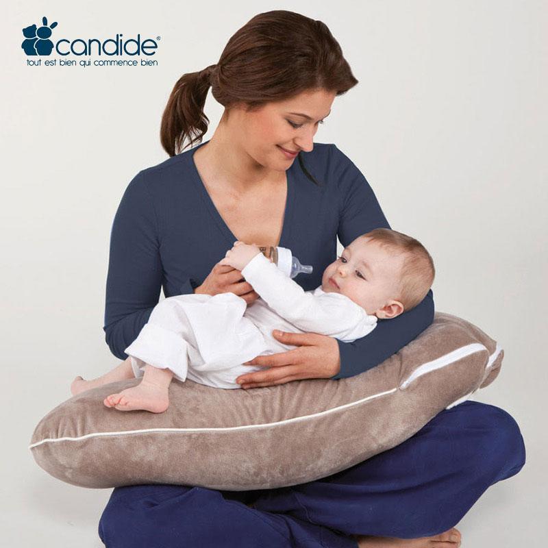 Candide法国原装进口MRX多功能三合一孕婴枕(哺乳枕 婴儿学坐枕 孕妇抱枕 三合一)