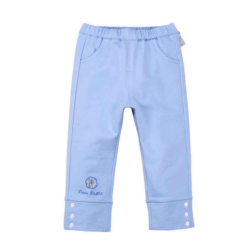 歌瑞家(比得兔)A类女宝宝蓝色卫裤