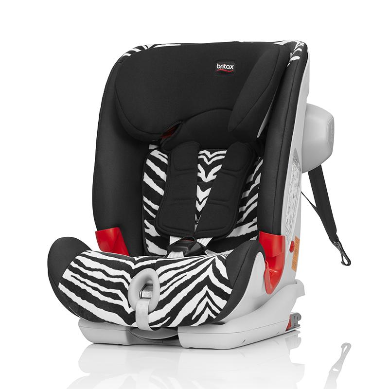 宝得适(britax)百变骑士IISICT儿童安全座椅宝宝座椅小斑马