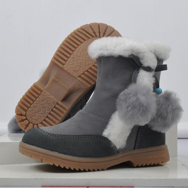 江博士--婴幼儿健康鞋B19059(灰-24)