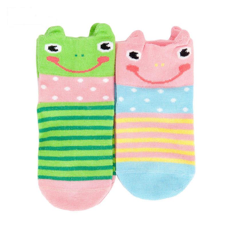 歌瑞贝儿男童卡通四季袜(2双装)