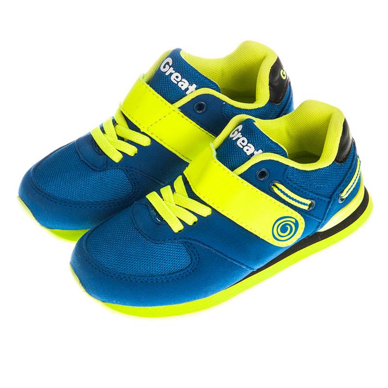 歌瑞凯儿男童运动鞋GK153-013SH蓝21cm双
