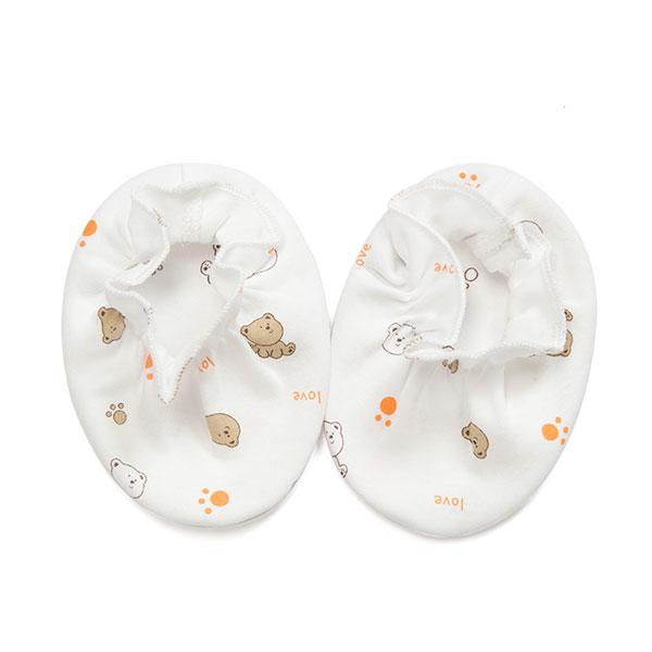 歌瑞贝儿(新)--双面布小熊乐园脚套GB130-152混色混码cm