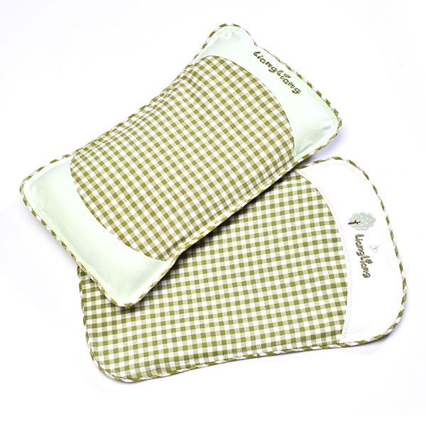 良良--婴幼儿护型保健枕(0-3岁)(绿(绿-混码)