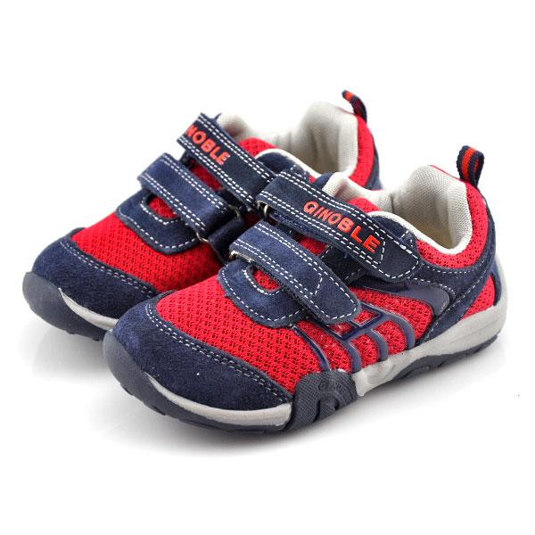 基诺浦--TXG101功能性婴童鞋(红-15)