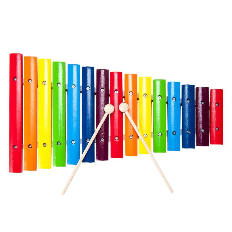 字母--彩色十五音木琴
