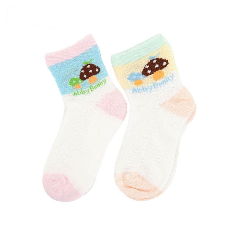 歌瑞贝儿女童网眼袜(2双装)